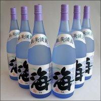 【送料無料・6本ケース】海(うみ umi) 1800mlX6本・大海酒造 芋焼酎 25度《ギフト対応不可》